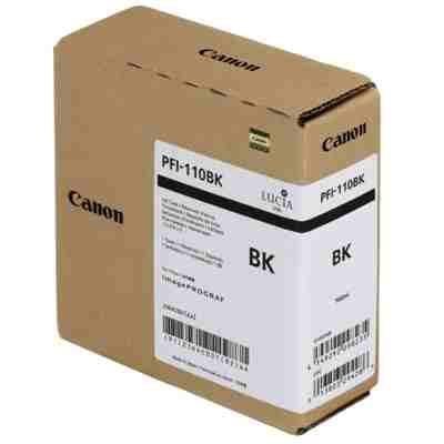 Tusz oryginalny PFI-110BK do Canon (2364C001) (Czarny)