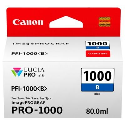 Tusz oryginalny PFI-1000B do Canon (0555C001) (Niebieski)