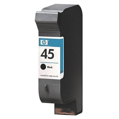 Regeneracja tusz 45 do HP (51645AE) (Czarny)
