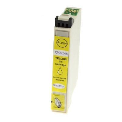 Tusz zamiennik T0794 do Epson (C13T07944010) (Żółty)