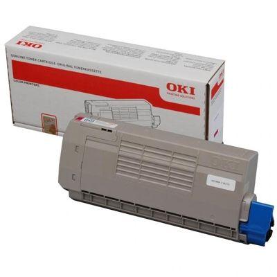 Toner oryginalny C710 do Oki (44318606) (Purpurowy)
