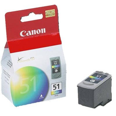 Tusz oryginalny CL-51 do Canon (0618B001) (Color)