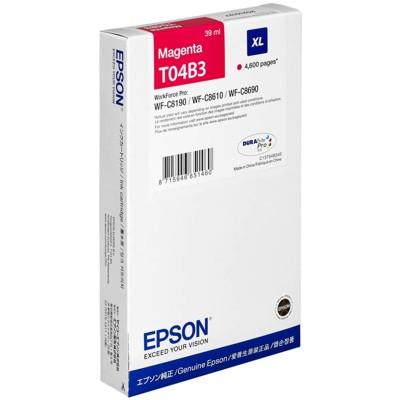 Tusz oryginalny T04B3 XL do Epson (C13T04B340) (Purpurowy)