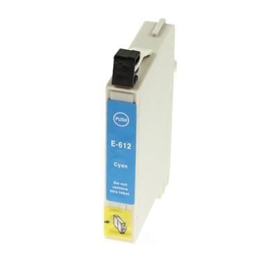 Tusz zamiennik T0612 do Epson (C13T06124010) (Błękitny)