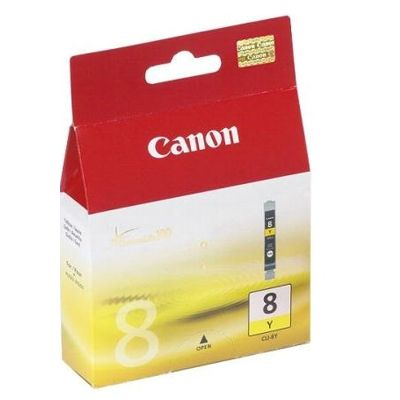 Tusz oryginalny CLI-8 Y do Canon (0623B001) (Żółty)