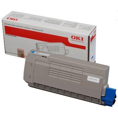 Toner oryginalny C710 do Oki (44318607) (Błękitny)