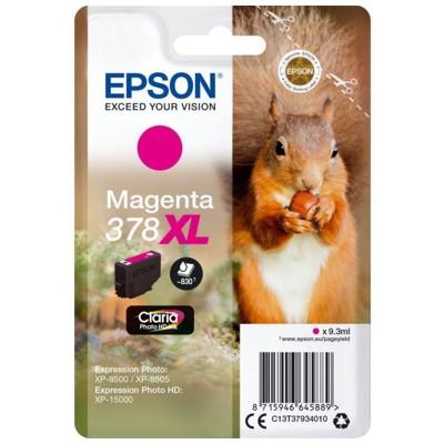 Tusz oryginalny T3793 do Epson (C13T37934010) (Purpurowy)