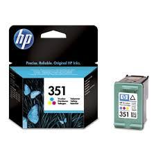 Tusz oryginalny 351 do HP (CB337EE) (Kolorowy)
