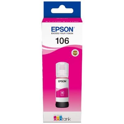 Tusz oryginalny 106 do Epson (C13T00R340) (Purpurowy)