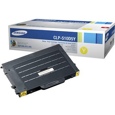 Toner oryginalny CLP-510D5Y 5K do Samsung (CLP-510D5Y) (Żółty)