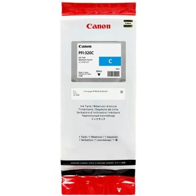 Tusz oryginalny PFI-320C do Canon (2891C001) (Błękitny)