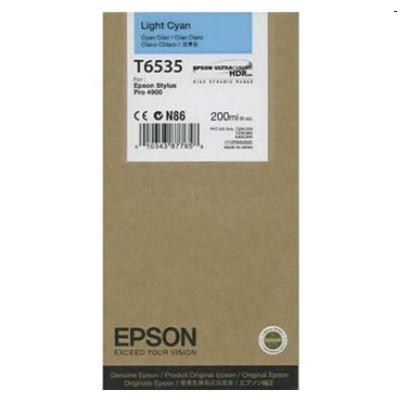 Tusz oryginalny T6535 do Epson (C13T653500) (Jasny błękitny)