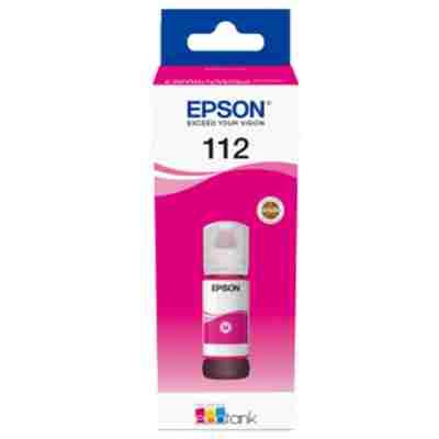 Tusz oryginalny 112 do Epson (C13T06C34A) (Purpurowy)