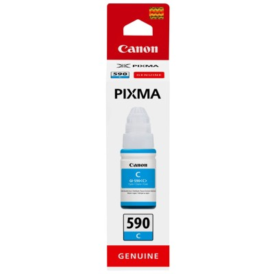 Tusz oryginalny GI-590 C do Canon (1604C001) (Błękitny)