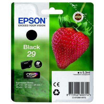 Tusz oryginalny T2981 do Epson (C13T29814010) (Czarny)