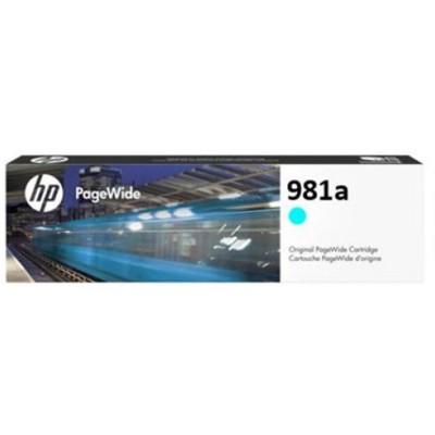 Tusz oryginalny 981A do HP (J3M68A) (Błękitny)
