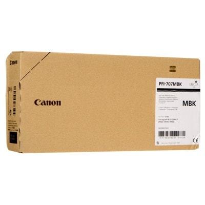 Tusz oryginalny PFI-707MBK do Canon (9820B001) (Czarny matowy)