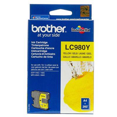 Tusz oryginalny LC-980 Y do Brother (LC980Y) (Żółty)