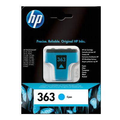 Tusz oryginalny 363 do HP (C8771E) (Błękitny)