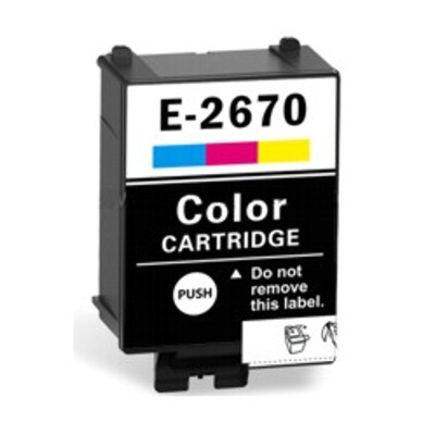 Tusz zamiennik T2670 do Epson (C13T26704010) (Kolorowy)