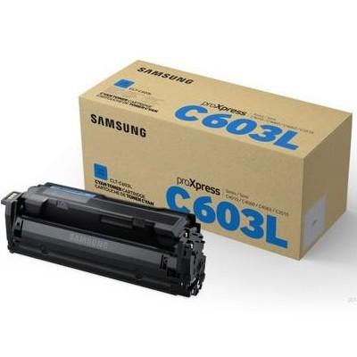 Toner oryginalny CLT-C603L do Samsung (SU080A) (Błękitny)