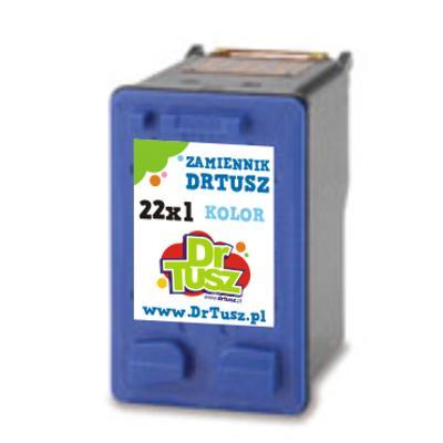Tusz zamiennik 22 XL do HP (C9352CE) (Kolorowy)