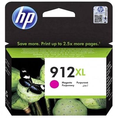 Tusz oryginalny 912 XL do HP (3YL82AE) (Purpurowy)
