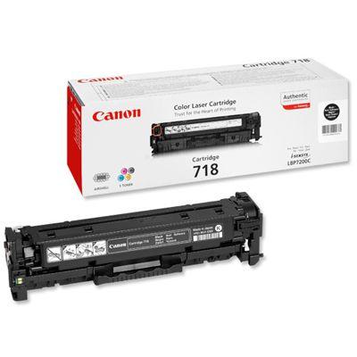 Toner oryginalny CRG-718 B do Canon (2662B002AA) (Czarny)