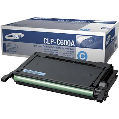 Toner oryginalny CLP-C600A do Samsung (CLP-C600A) (Błękitny)
