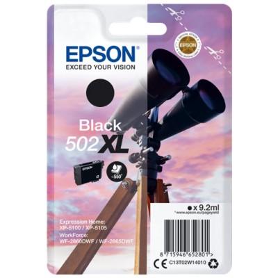 Tusz oryginalny 502 XL do Epson (C13T02W14010) (Czarny)