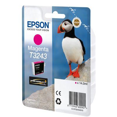Tusz oryginalny T3243 do Epson (C13T32434010) (Purpurowy)