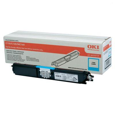 Toner oryginalny C110/130 do Oki (44250723) (Błękitny)