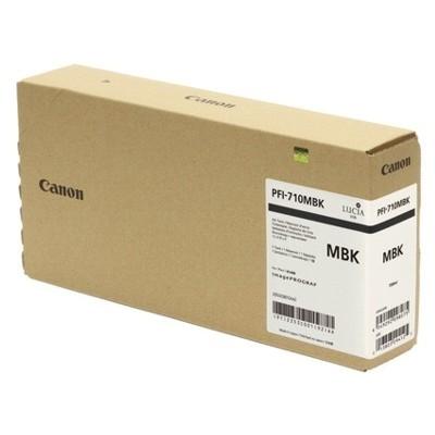 Tusz oryginalny PFI-710MBK do Canon (2353C001) (Czarny matowy)