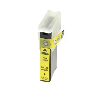 Tusz zamiennik 100XL Y do Lexmark (014N1071E) (Żółty)