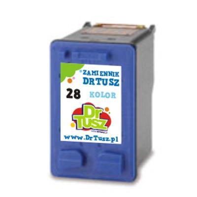 Tusz zamiennik 28 do HP (C8728AE) (Kolorowy)