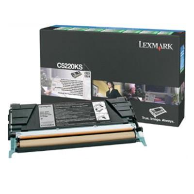 Toner oryginalny C5220KS do Lexmark (C5220KS) (Czarny)