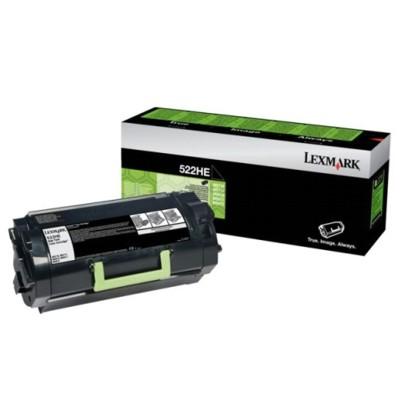 Toner oryginalny 520HE do Lexmark (52D2H0E) (Czarny)