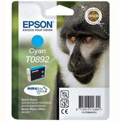 Tusz oryginalny T0892 do Epson (C13T08924011) (Błękitny)