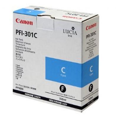 Tusz oryginalny PFI-301C do Canon (1487B001) (Błękitny)