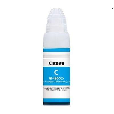 Tusz oryginalny GI-490 PGC do Canon (GI-490PGC) (Błękitny)