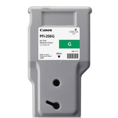 Tusz oryginalny PFI-206G do Canon (5310B001AA) (Zielony)
