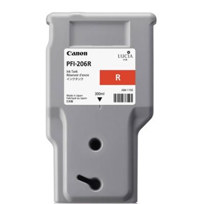 Tusz oryginalny PFI-206R do Canon (5309B001AA) (Czerwony)
