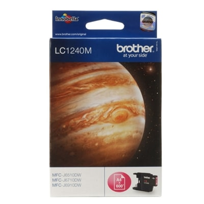 Tusz oryginalny LC-1240 M do Brother (LC1240M) (Purpurowy)