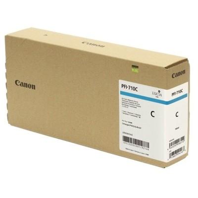 Tusz oryginalny PFI-710C do Canon (2355C001) (Błękitny)