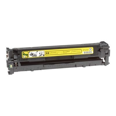 Regeneracja toner 125A do HP (CB542A) (Żółty)