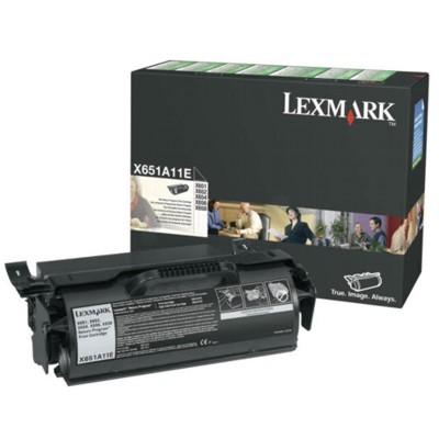 Toner oryginalny X651A11E do Lexmark (X651A11E) (Czarny)