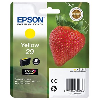 Tusz oryginalny T2984 do Epson (C13T29844010) (Żółty)