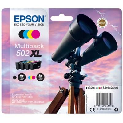 Tusze oryginalne 502 XL do Epson (C13T02W64010) (komplet)