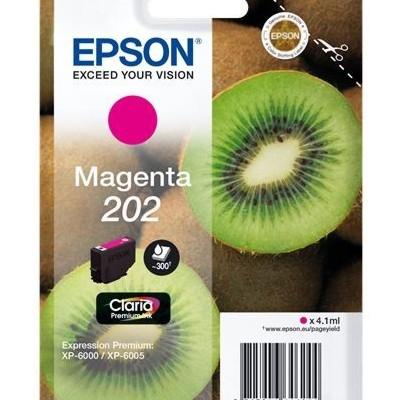 Tusz oryginalny 202 do Epson (C13T02F34010) (Purpurowy)