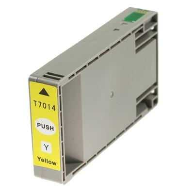 Tusz zamiennik T7014 do Epson (C13T70144010) (Żółty)